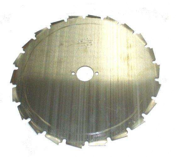 Nůž křovinořezu 22 zubů - 225 / 25,4 / 1,8 mm - dlabací
