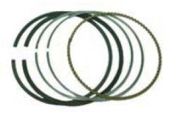 Pístní kroužky 791969 pro motory Briggs & Stratton