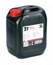 Olej 2T zelený - 5 litrů