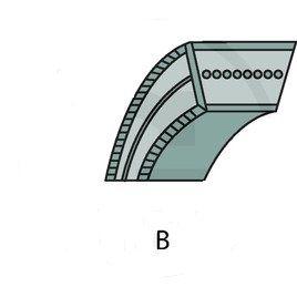 Řemen klínový B 15,9 x 1 346 mm, kevlarový