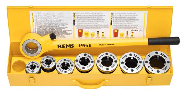 """REMS Eva R 3/8- 1/2- 3/4- 1- 1 1/4"""" - Ruční závitnice REMS - Germany"""