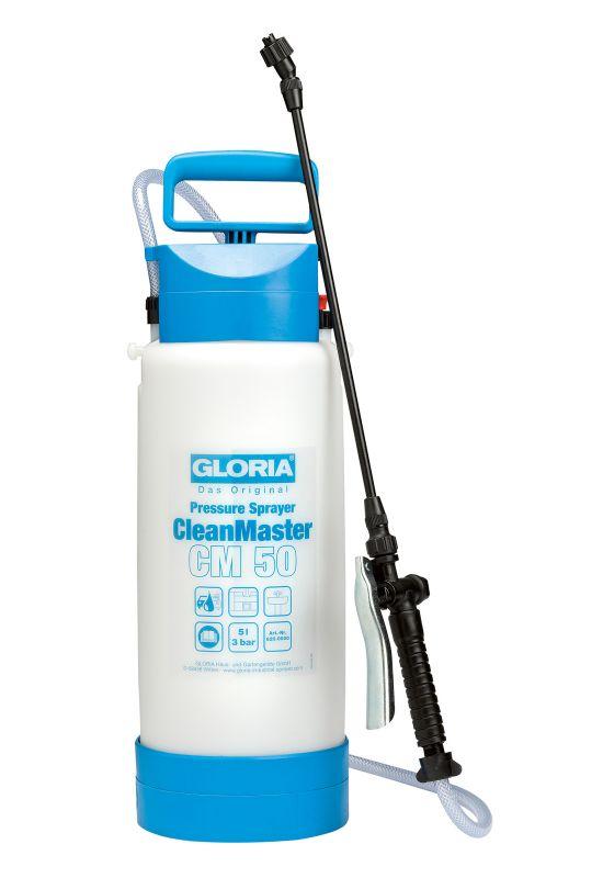 GLORIA CleanMaster CM 50 - Postřikovač pro aplikaci kyselých a alkalických postřiků GLORIA - Made in Germany