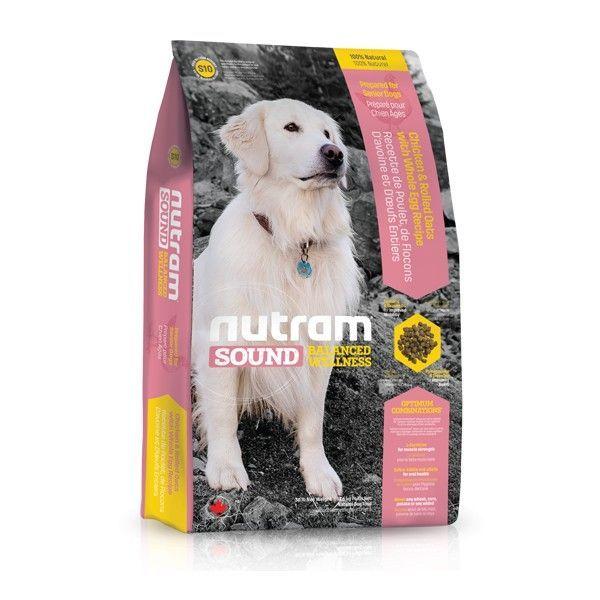 S10 Nutram Sound Senior Dog - Suché krmivo pro psí seniory všech plemen Nutram Pet Product (Canada)