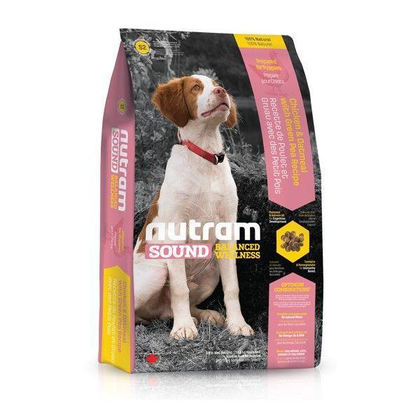 S2 Nutram Sound Puppy, 2,72 kg - Přírodní suché krmivo pro štěňata Nutram Pet Product (Canada)
