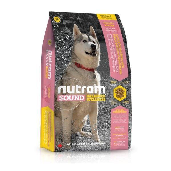 S9 Nutram Sound Adult Dog Lamb - Suché krmivo pro dospělého psa, z jehněčího masa Nutram Pet Product (Canada)