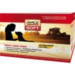 SOFT MACs Dog KUŘE - Polovlhké granulované krmivo