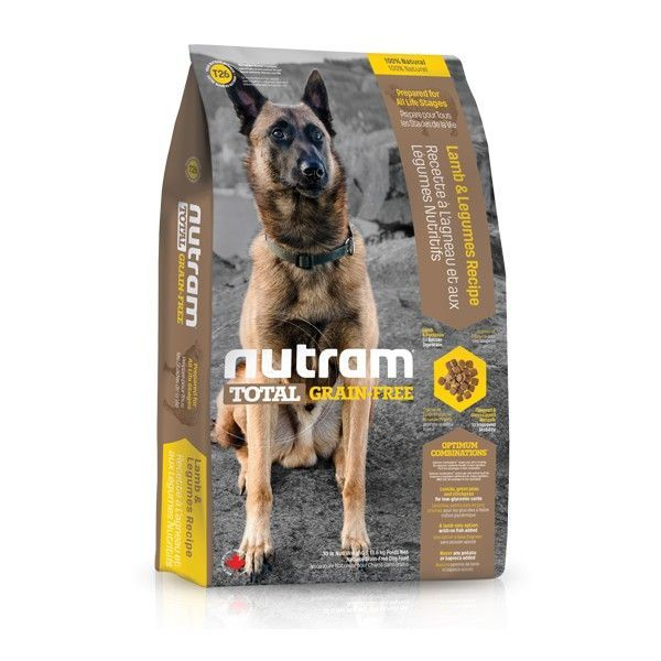 T26 Nutram Total Grain-Free Lamb & Legumes, Dog - bezobilné krmivo, jehněčí a luštěniny Nutram Pet Product (Canada)