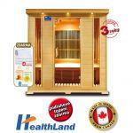 Infrasauna HealthLand DeLUXE 4004 CARBON + Dárek ZDARMA