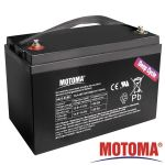 Baterie MOTOMA 12V/100Ah pro soláry