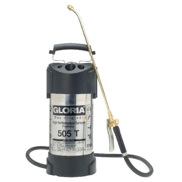 GLORIA 505 T Profiline - Tlakový postřikovač s manometrem GLORIA - Made in Germany