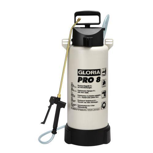 GLORIA PRO 8 - Speciální tlakový postřikovač odolný oleji GLORIA - Made in Germany