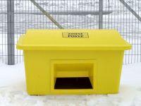Nádoba na zimní posyp s výsypným otvorem SBA 420 l