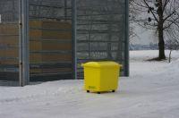 Nádoba na zimní posyp bez výsypného otvoru SBA 110 l Vyrobeno v ČR