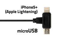 Držák telefonu s podložkou a kabelem micro USB