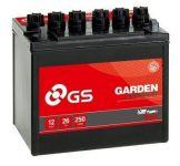 GS Baterie Garden 12V 26Ah 200A Pravá U1R