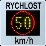 Plastový měřič rychlosti GR33L/GR33CL
