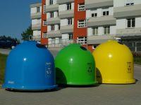 Sklolaminátové kontejnery na tříděný odpad GFA